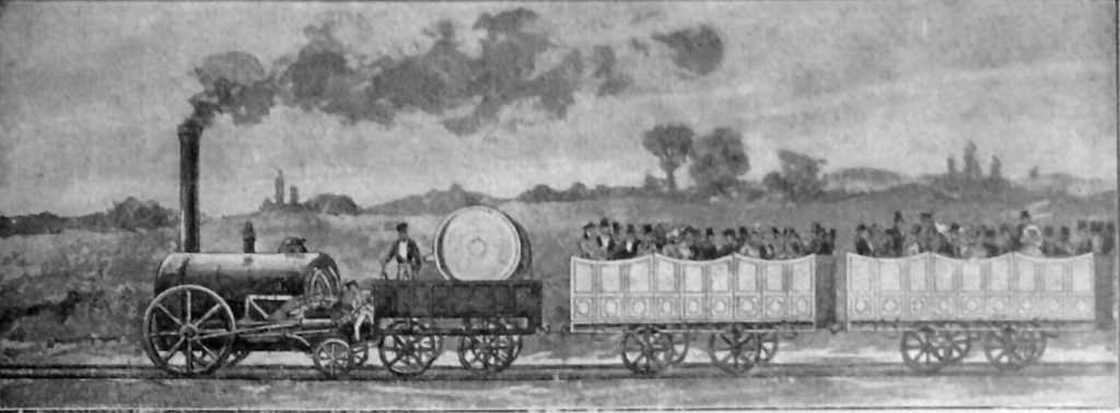 First_passenger_railway